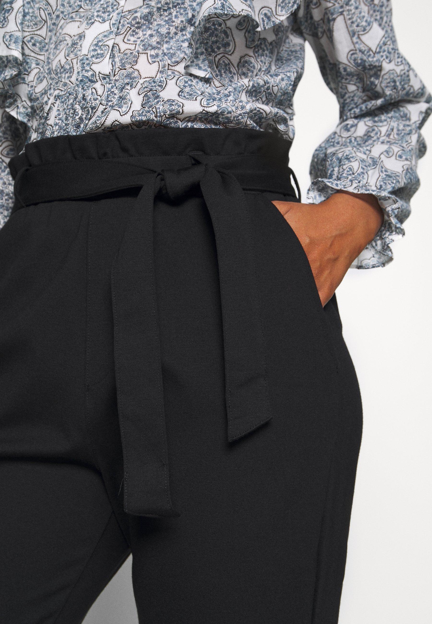 Q/S designed by Pantalon classique - black - Pantalons & Leggings Femme DQ7ZT