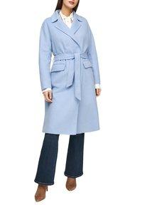 s.Oliver BLACK LABEL - Classic coat - light blue - 3