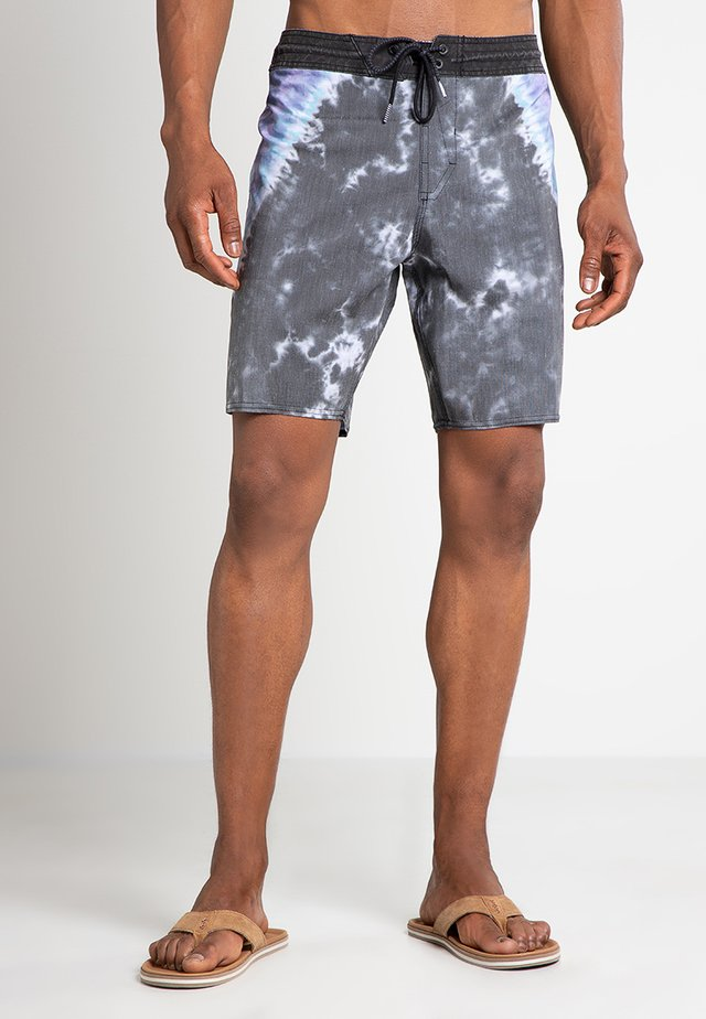DYE STONEY - Zwemshorts - black