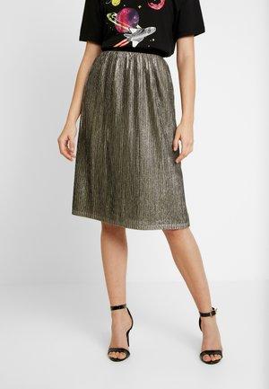 YOANNA SKIRT - A-line skirt - gold