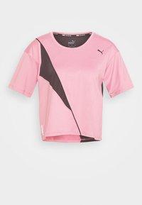 TRAIN PEARL TEE - Camiseta de deporte - foxglove/black
