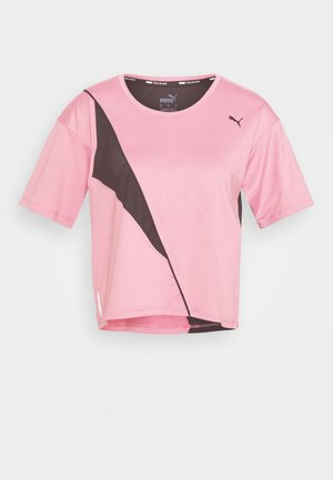 TRAIN PEARL TEE - Sports shirt - foxglove/black