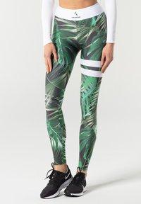 carpatree - TROPICAL TIGHTS - Leggings - green - 0