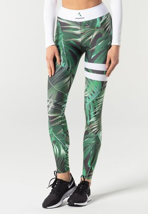 TROPICAL TIGHTS - Tights - green