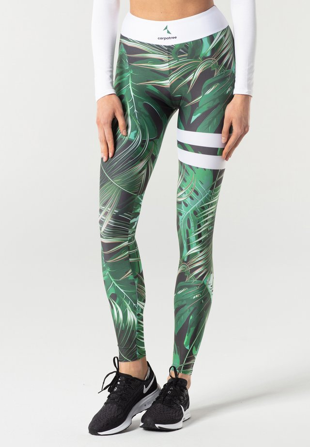 TROPICAL TIGHTS - Legging - green