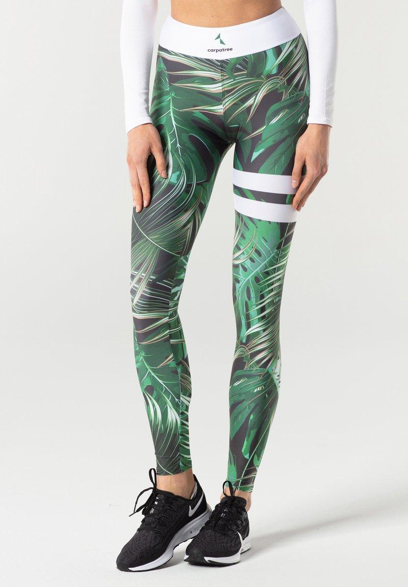 carpatree - TROPICAL TIGHTS - Leggings - green