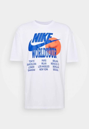 TEE WORLD TOUR - Camiseta estampada - white