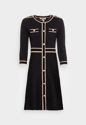 QUALIFIABLE - Day dress - noir