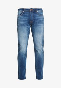 Jack & Jones - JJIMIKE JJORIGINAL JOS - Straight leg jeans - blue denim - 4