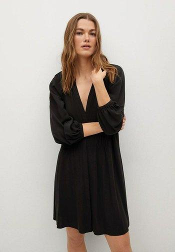 ROBE - Denní šaty - noir