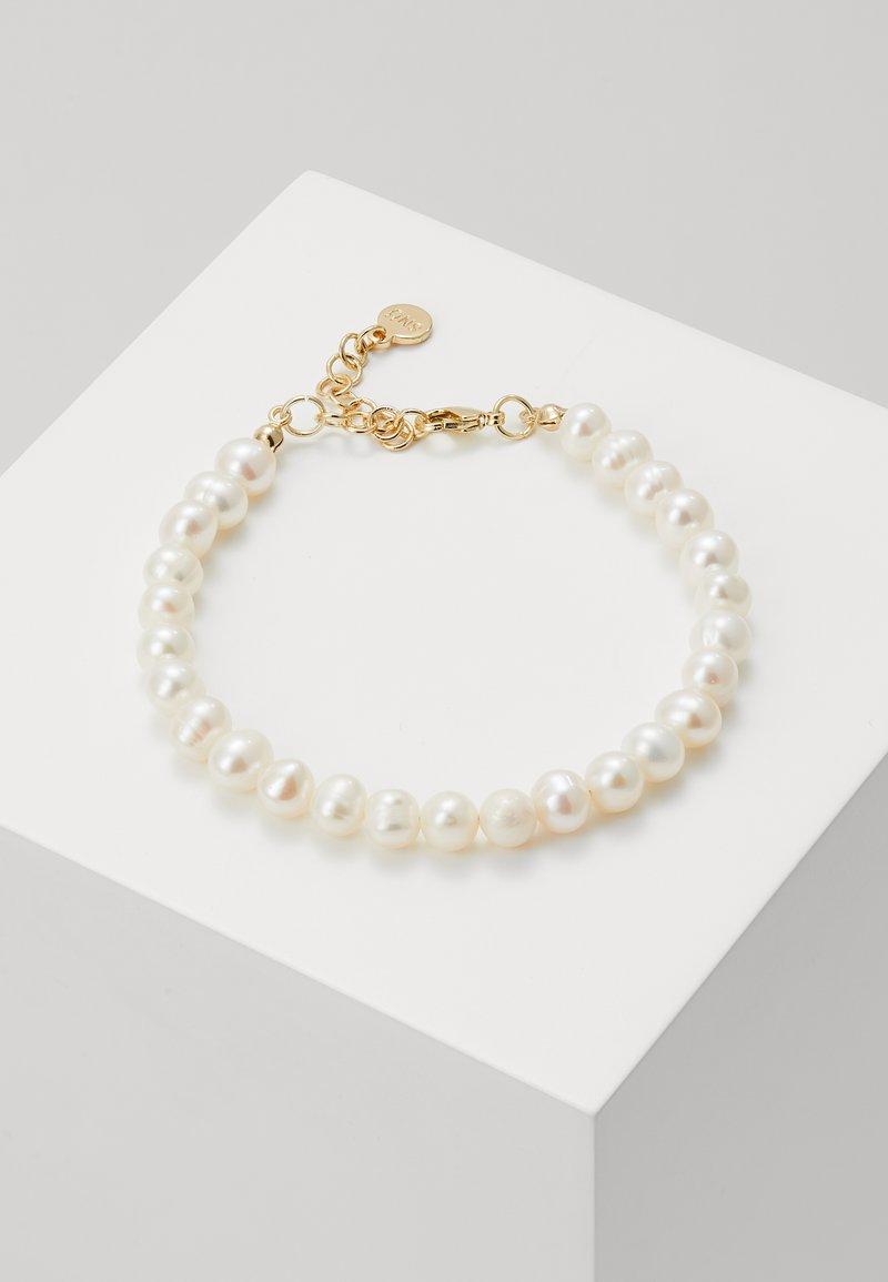 SNÖ of Sweden - MAXIME PEARL BRACE - Bracelet - white
