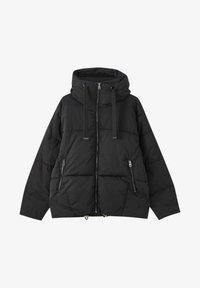 PULL&BEAR - Winter jacket - black - 5