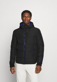 Superdry - SPORTS PUFFER - Winter jacket - black - 0