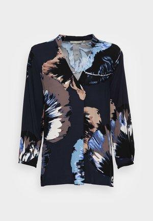 VIKSA BLOUSE - Long sleeved top - navy blue
