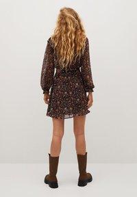 Mango - WINTER - Korte jurk - schwarz - 2