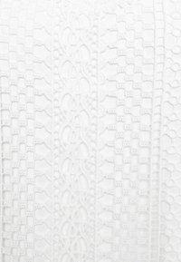 Dorothy Perkins - SLEEVELESS LACE BLOUSE - Bluser - white - 2