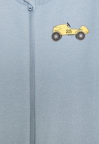Name it - NBMNIGHTSUIT ZIP DUSTY - Pyjamas - dusty blue - 2