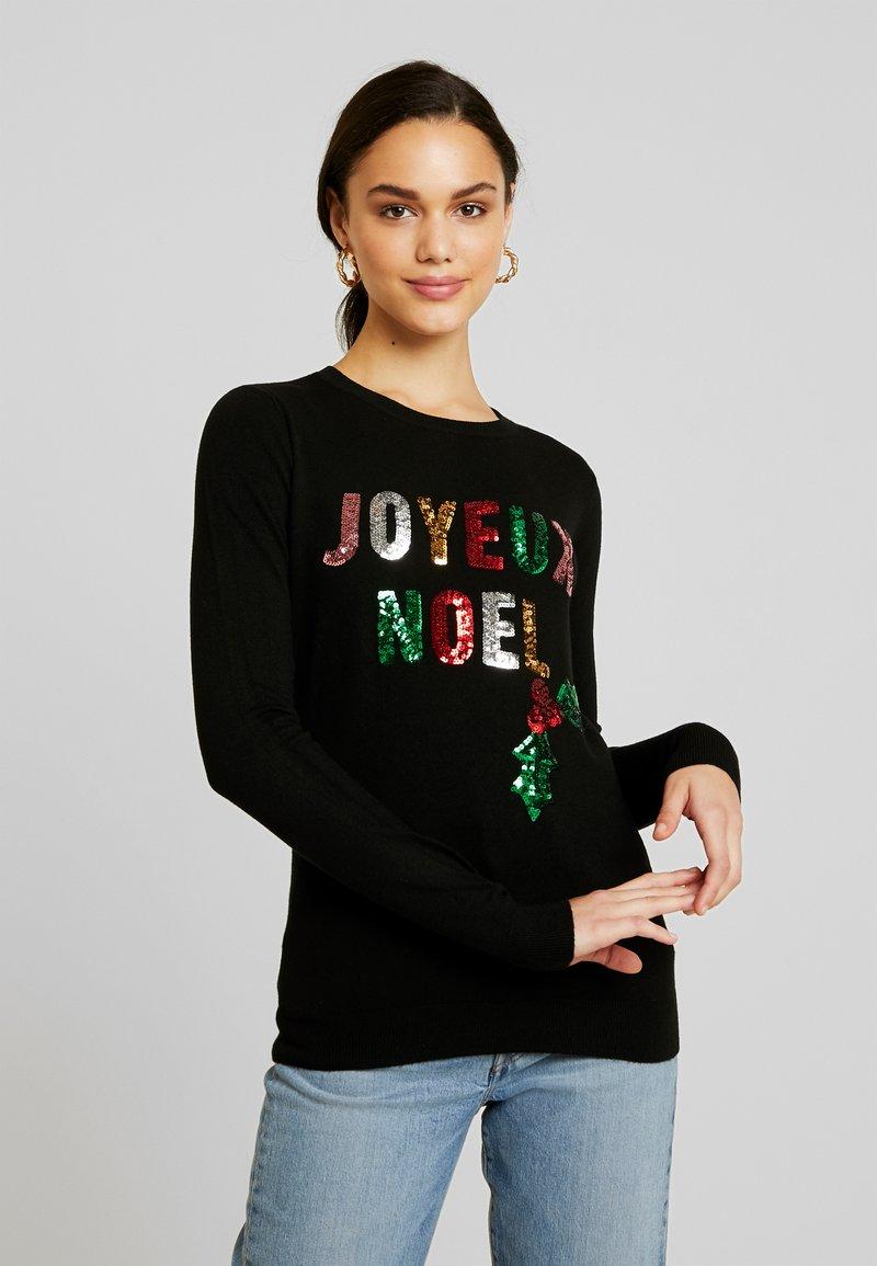 Fashion Union - CHRISTMAS JOYEUX NOEL - Strikpullover /Striktrøjer - black