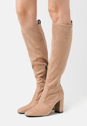 DARLENE - Vysoká obuv - taupe