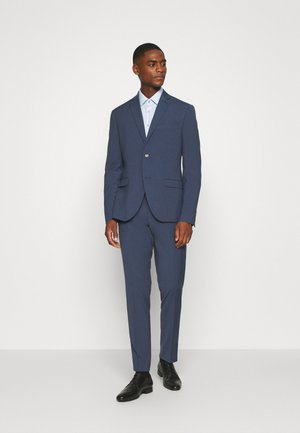 PLAIN SMOKEY SUIT - Suit - blue