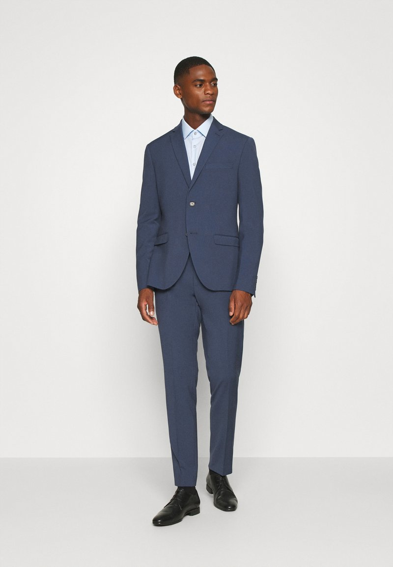 Isaac Dewhirst - PLAIN SMOKEY SUIT - Completo - blue