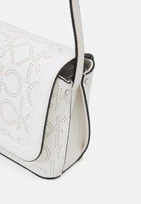 Calvin Klein - FLAP XBODY - Across body bag - white - 4
