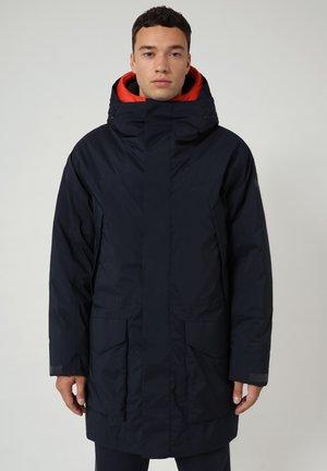 FAHRENHEIT - Winter coat - blu marine