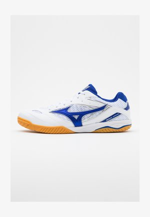WAVE DRIVE 8 - Sports shoes - white/reflex blue