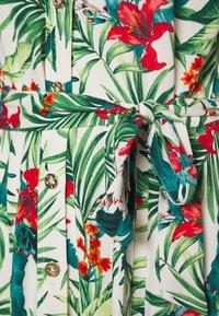 Dorothy Perkins - TROPICAL SHIRT DRESS - Shirt dress - white - 2