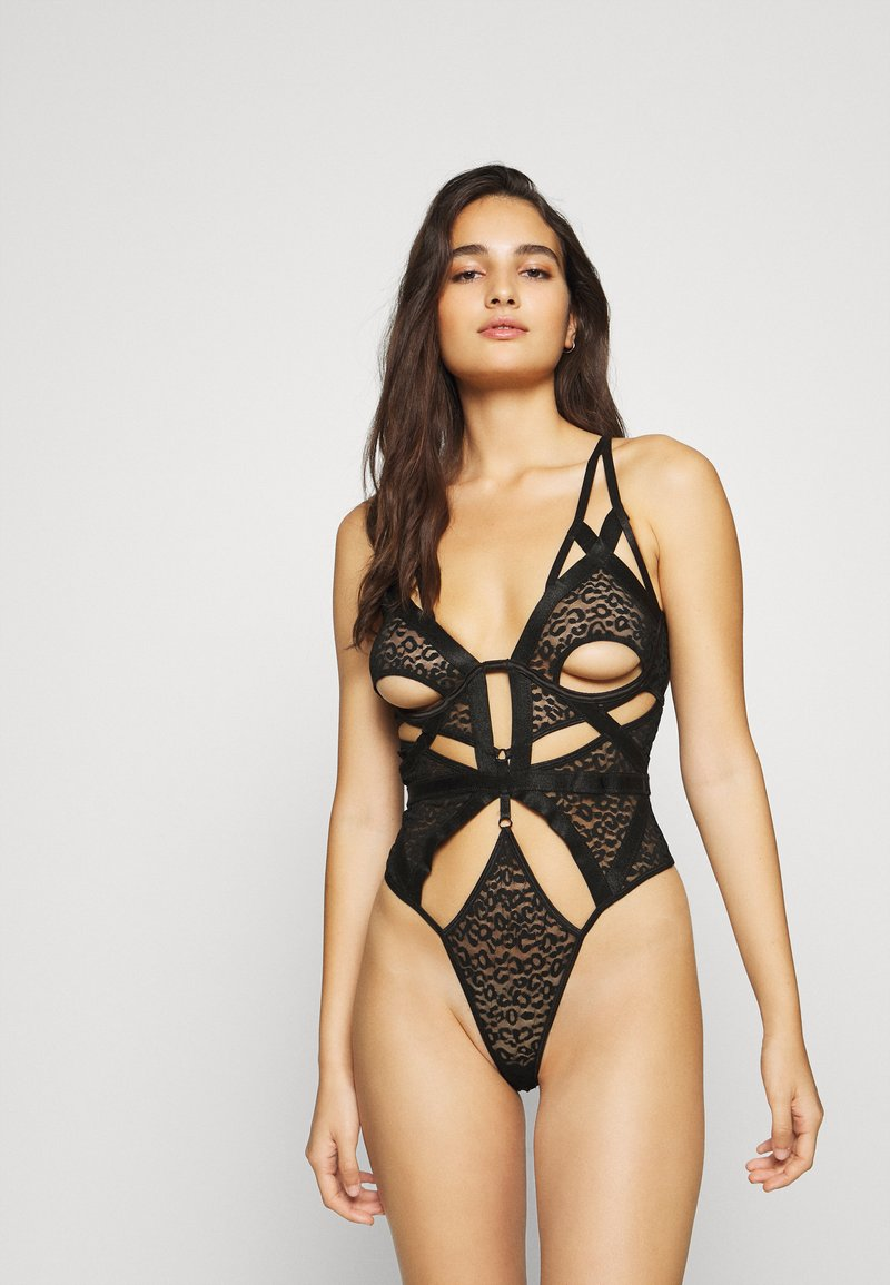 Ann Summers - THE WILD ONE SEWN UP - Body - black