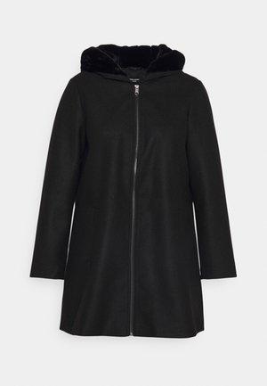 VMMOLLYHOODIE JACKET - Classic coat - black
