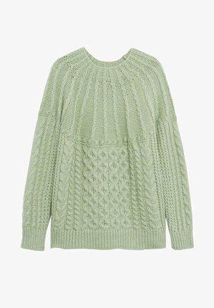 HANDIA - Maglione - pastellgrün