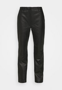 2nd Day - TIMEA - Leather trousers - jet black - 5