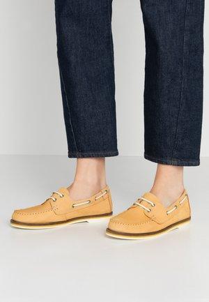 LACE-UP - Scarpe da barca - yellow