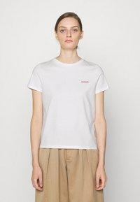 CLOSED - Basic T-shirt - ivory - 0