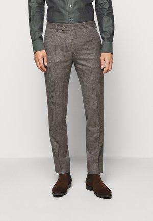 CRAIG - Suit trousers - light camel
