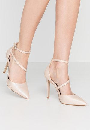 CRYSTAL - High heels - metallic
