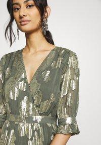We are Kindred - ADELE MAXI DRESS - Společenské šaty - olive rose - 4