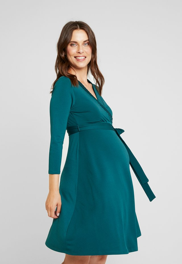 Robe en jersey - deep teal