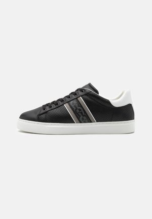 DAVID - Trainers - black/white