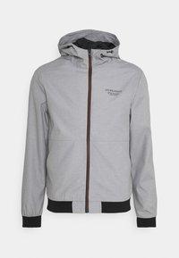 JJESEAM - Summer jacket - light grey melange