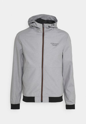 JJESEAM - Summer jacket - light grey melange