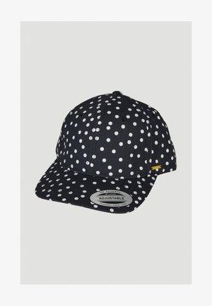 BEACH  - Cap - black with white