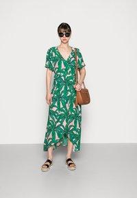 Fabienne Chapot - ARCHANA SLEEVE DRESS - Maxi dress - lovely pink/emerald - 1