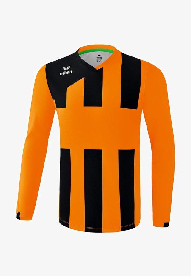 TRIKOT SIENA 3.0 LANGARM KINDER - Sports shirt - orange / black