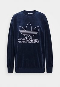adidas Originals - CREW SPORTS INSPIRED  - Sweatshirt - collegiate navy/white - 4