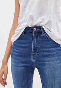 Bershka - Jeans Skinny Fit - dark blue - 3