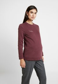 Paula Janz Maternity - HAPPINESS - Sweatshirt - plum - 0