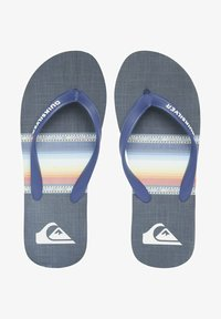 Quiksilver - T-bar sandals - blue/blue/black - 0