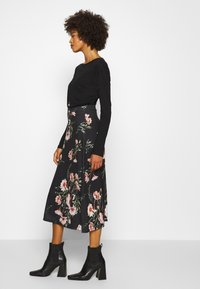 Anna Field - Maxi sukně - black/multicoloured - 4